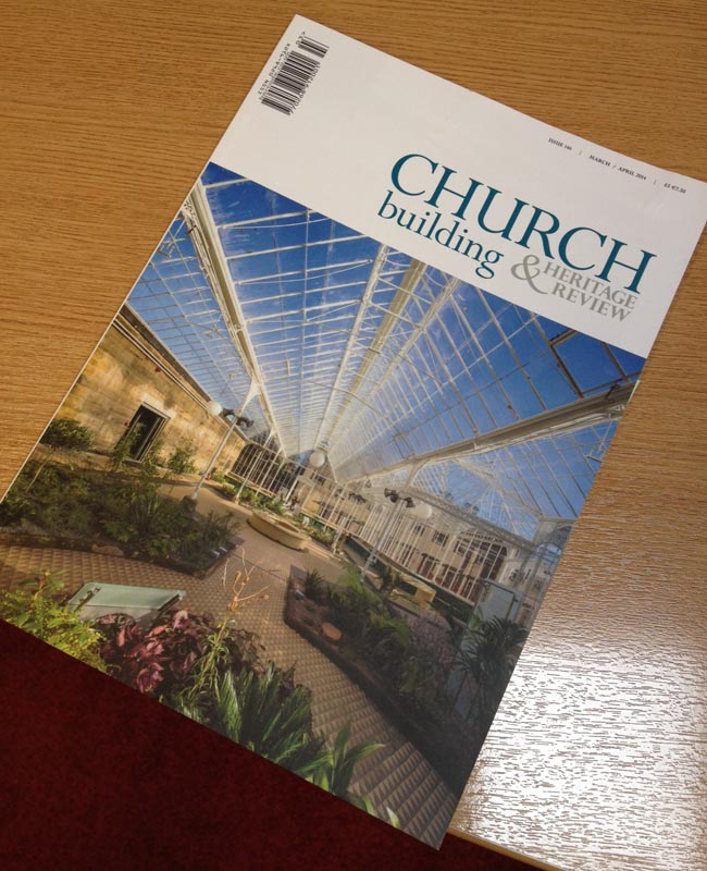 cover, magazine, church building,