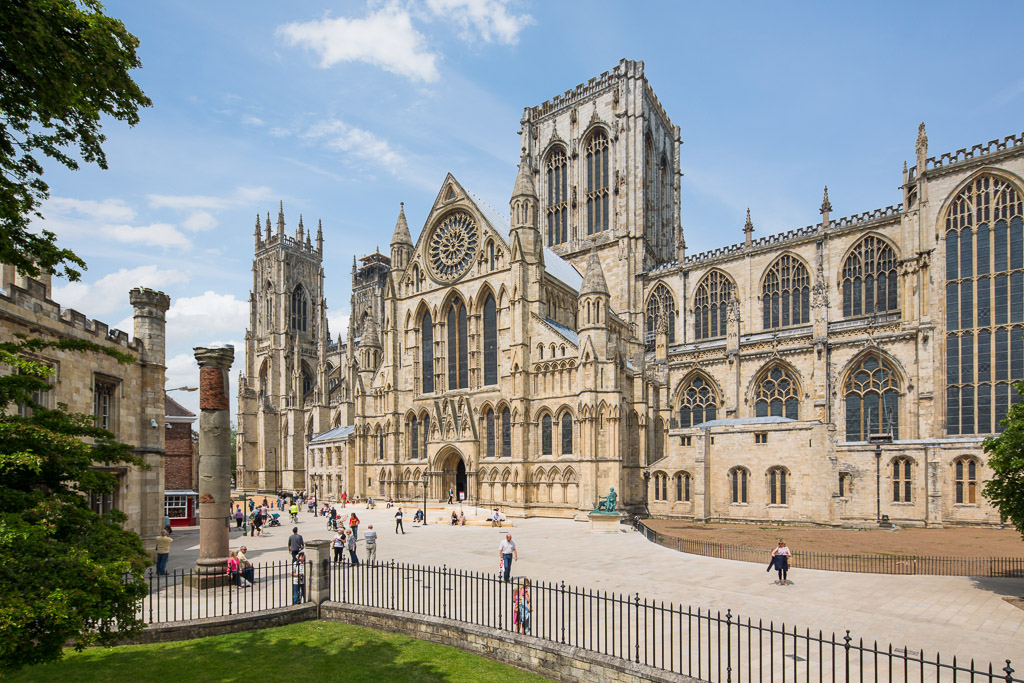 Photography of York Minster in the daytime
