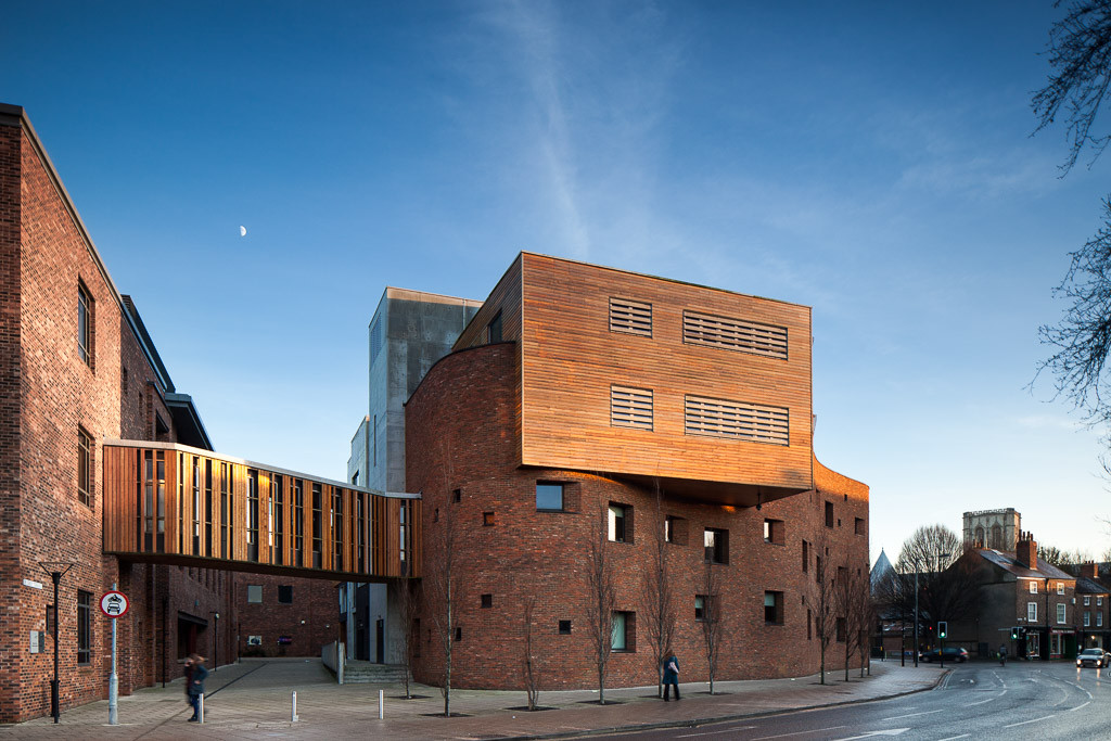 York St John University architectural photograph