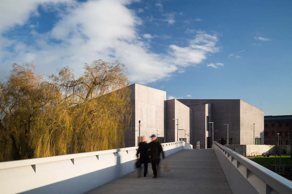 Hepworth gallery architectural photographer