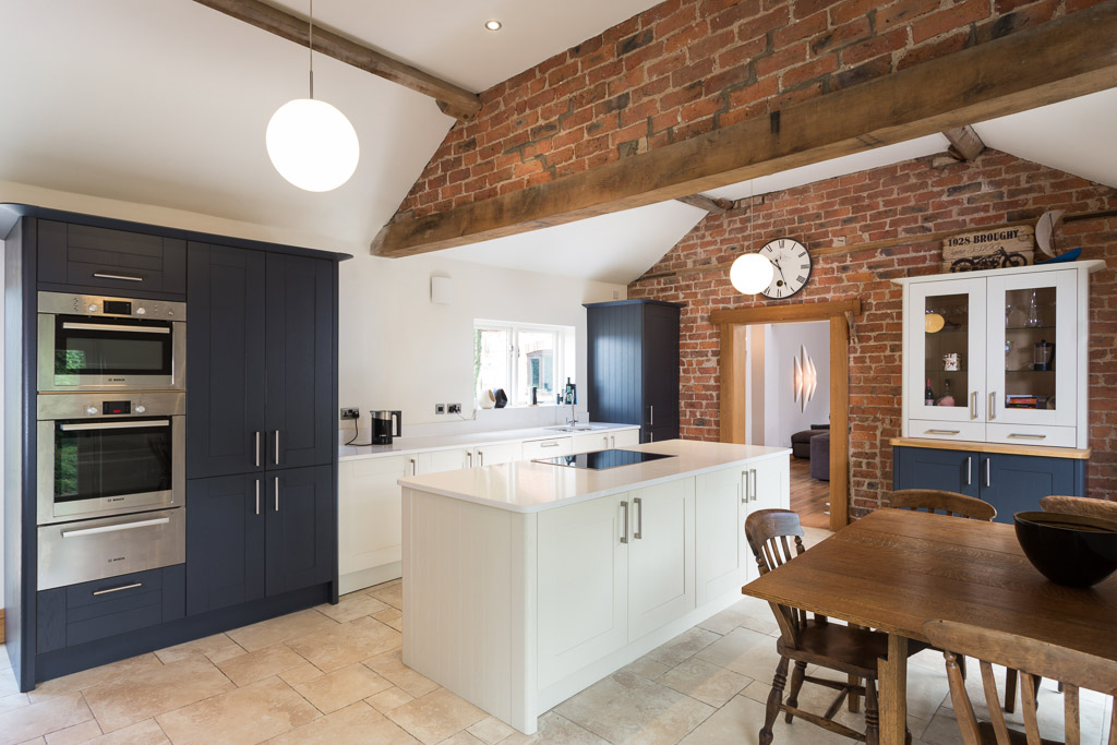 ... Kitchen In Barn Conversion