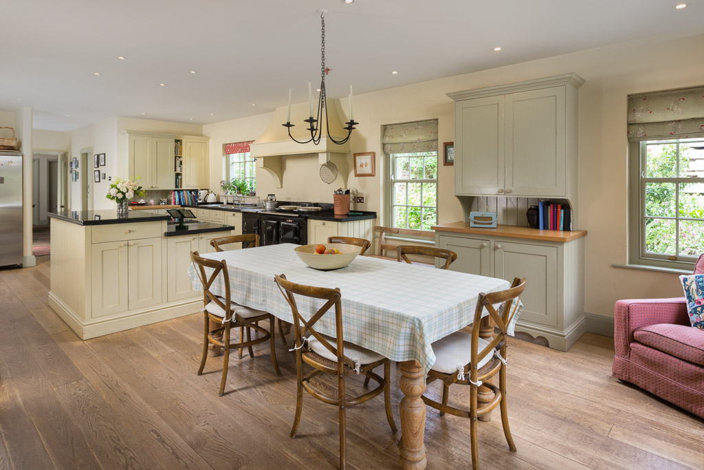 country kitchen in former rectory