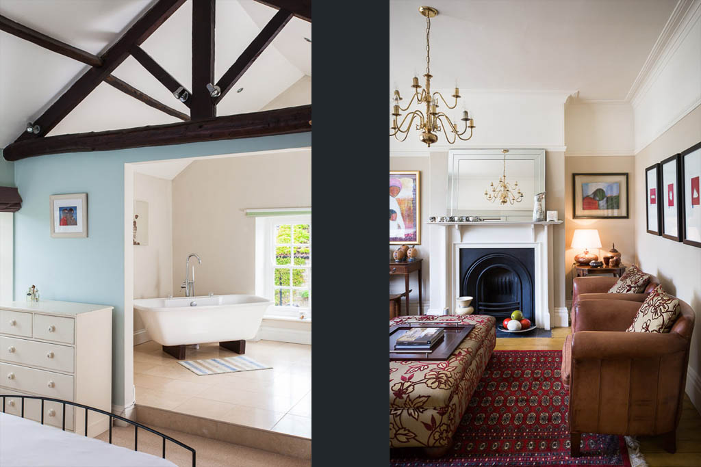 resiential photograph of period property interiors