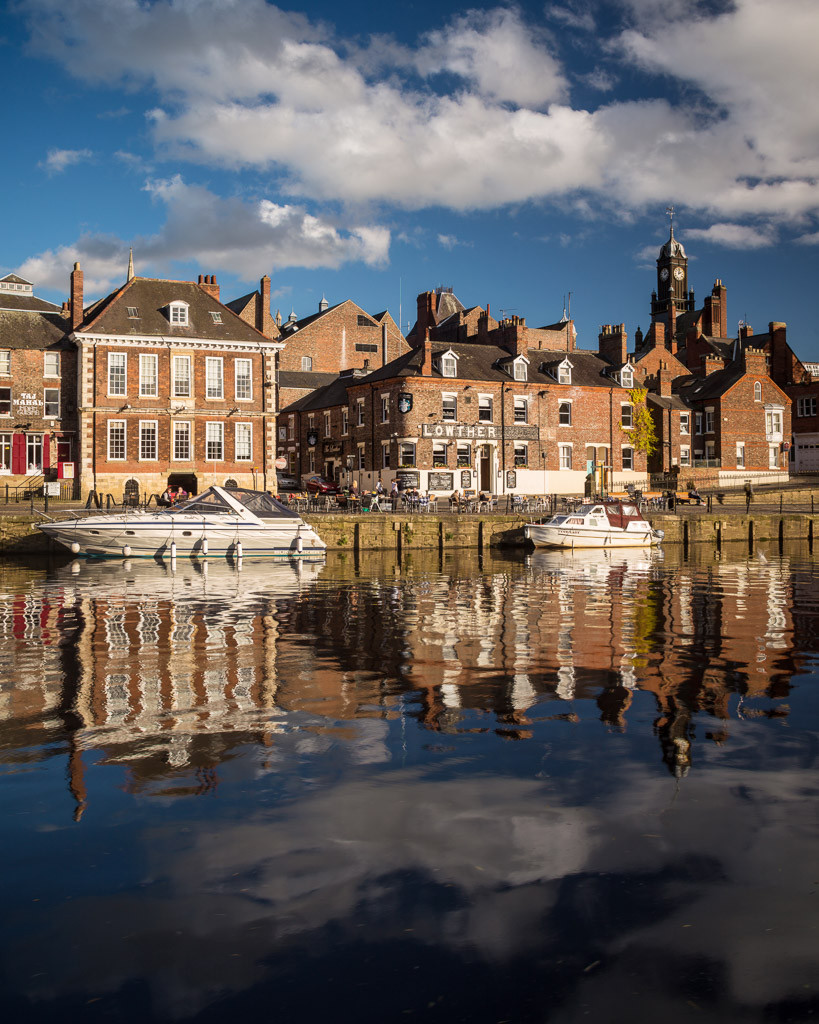 Kings Staith, river ouse, york city centre photographer