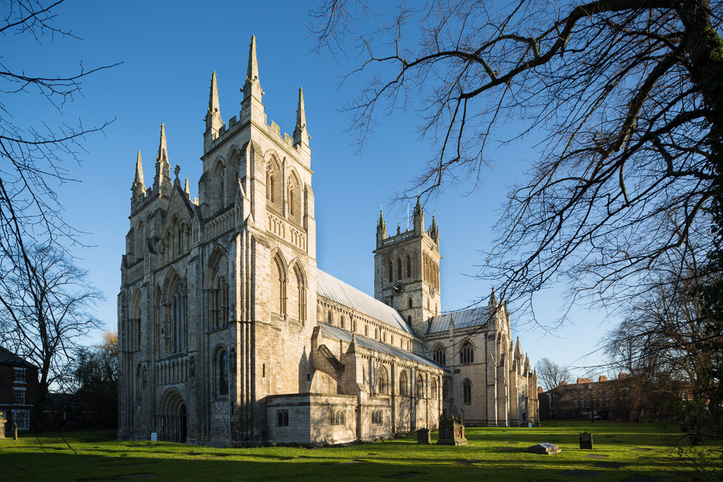 Selby Abbey architectural photographer Yorkshire