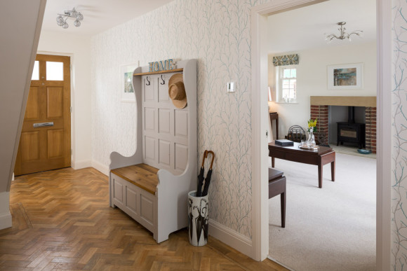hall in Yorkshire showhome