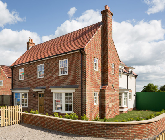 new build show home near York