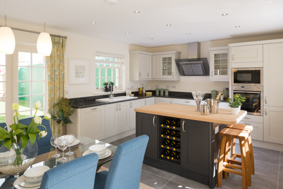 new kitchen in show house