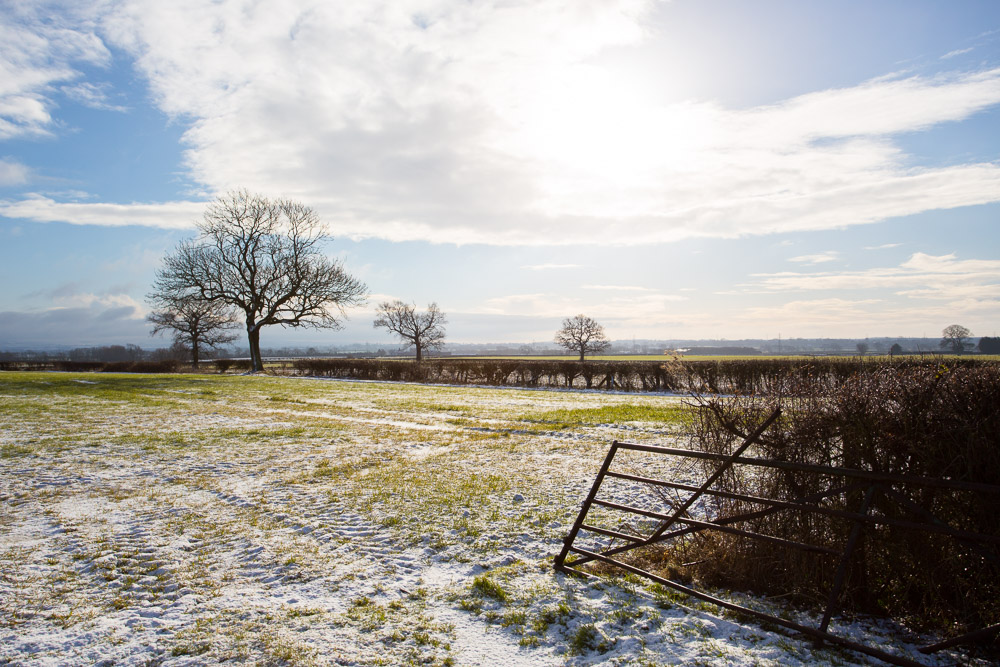 Photography of Yorkshire landscape in winter