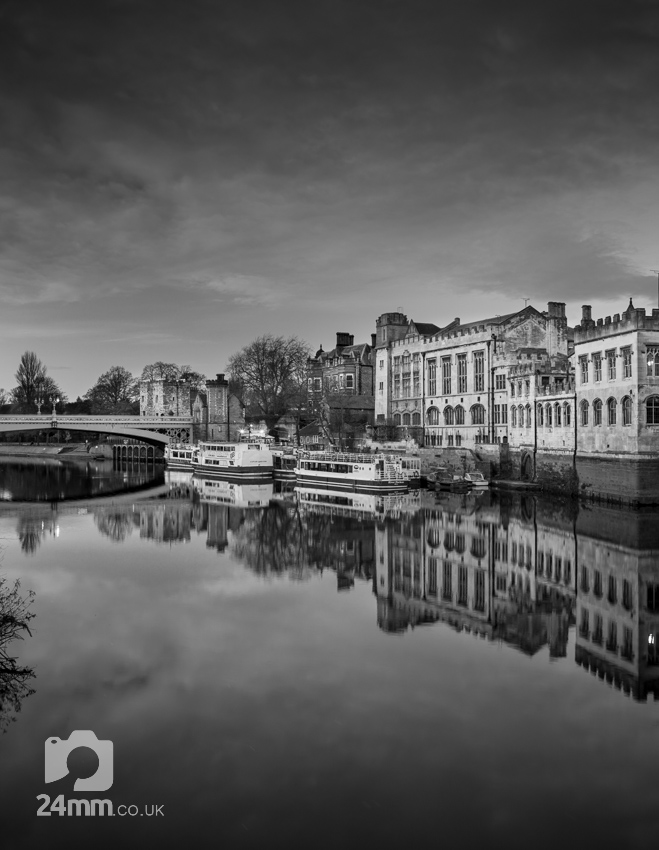 The guildhall reflected in the River Ouse, York city centre photographs