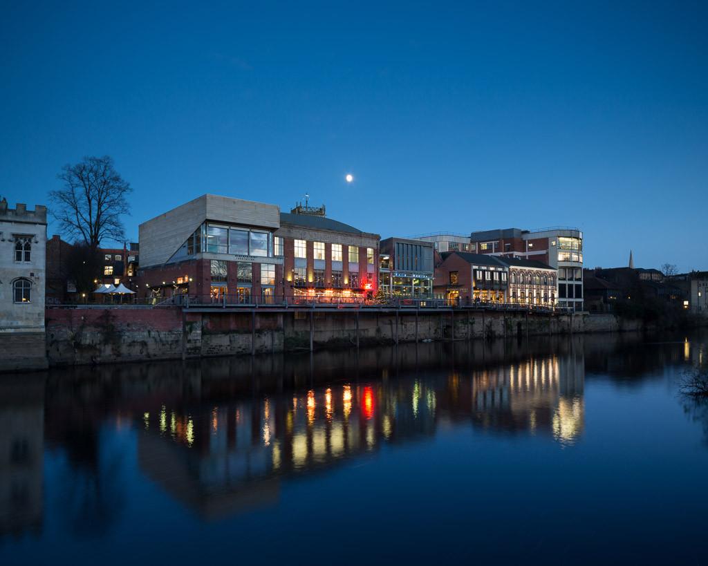 River Ouse, York riverside development photography